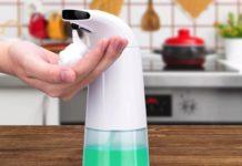 Erogatore automatico di sapone liquido in offerta a soli 11,35 euro
