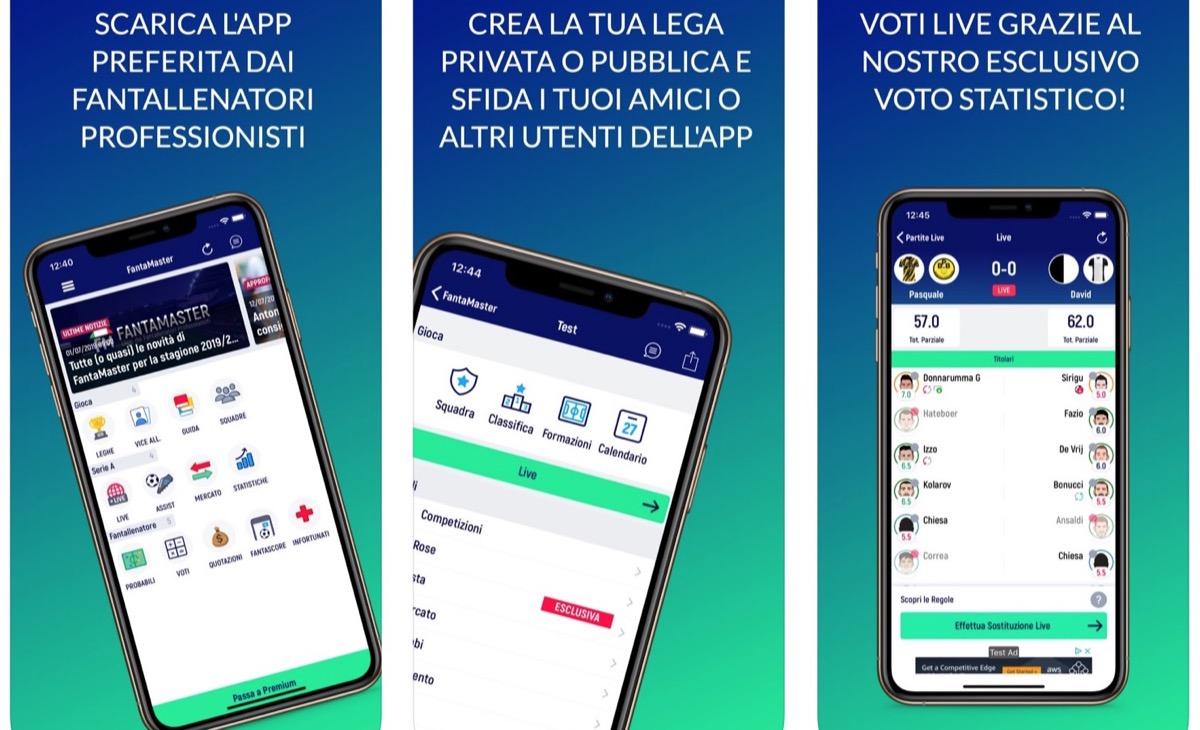 FantaMaster, l'app è pronta per la stagione calcistica 2019-2020