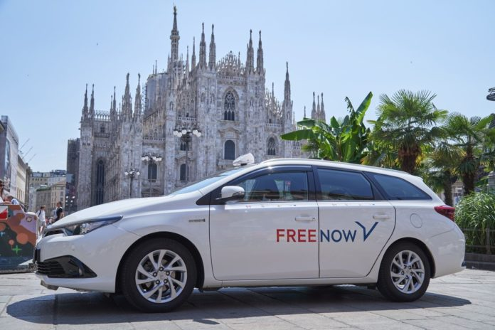 Free Now sconta i viaggi in tutta Europa del 25%