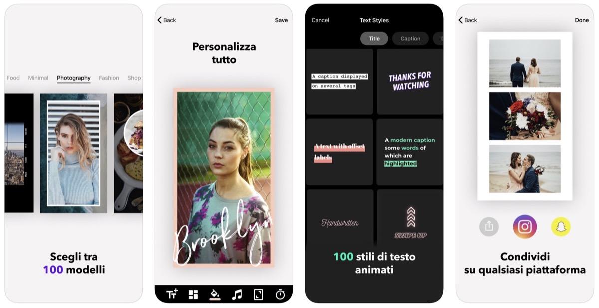 Mojo Crea Storie con Testo, l'irresistibile app per le Storie di Instagram