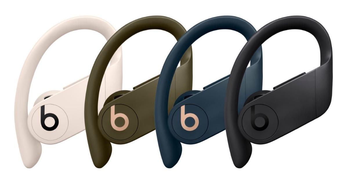 Non solo nero, PowerBeats Pro presto disponibili in tre nuovi colori