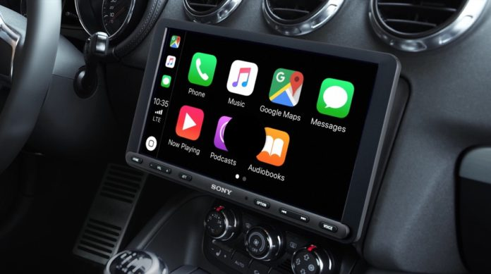 Sony XAV-AX8000 mette Carplay e Android Auto su qualsiasi automobile
