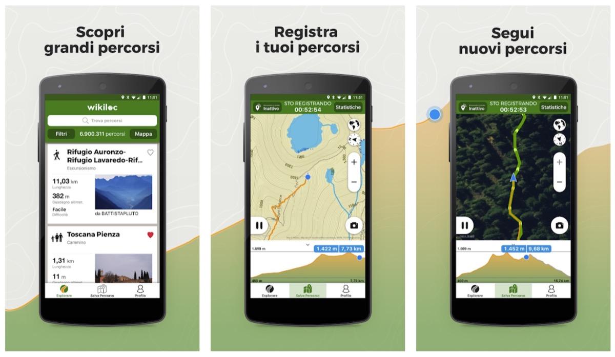 Wikiloc trasforma iPhone e Apple Watch in un GPS topografico per le escursioni