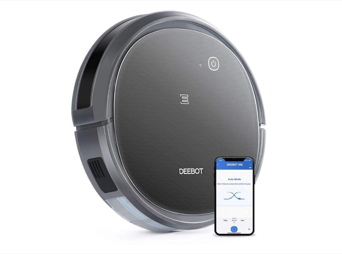 Ecovacs Deebot 502, aspirapolvere robot con WiFi scontato di ben 50 euro