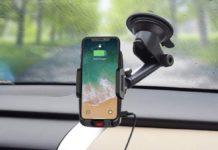 Supporto smartphone per auto con ricarica wireless in offerta a soli 15,99 euro