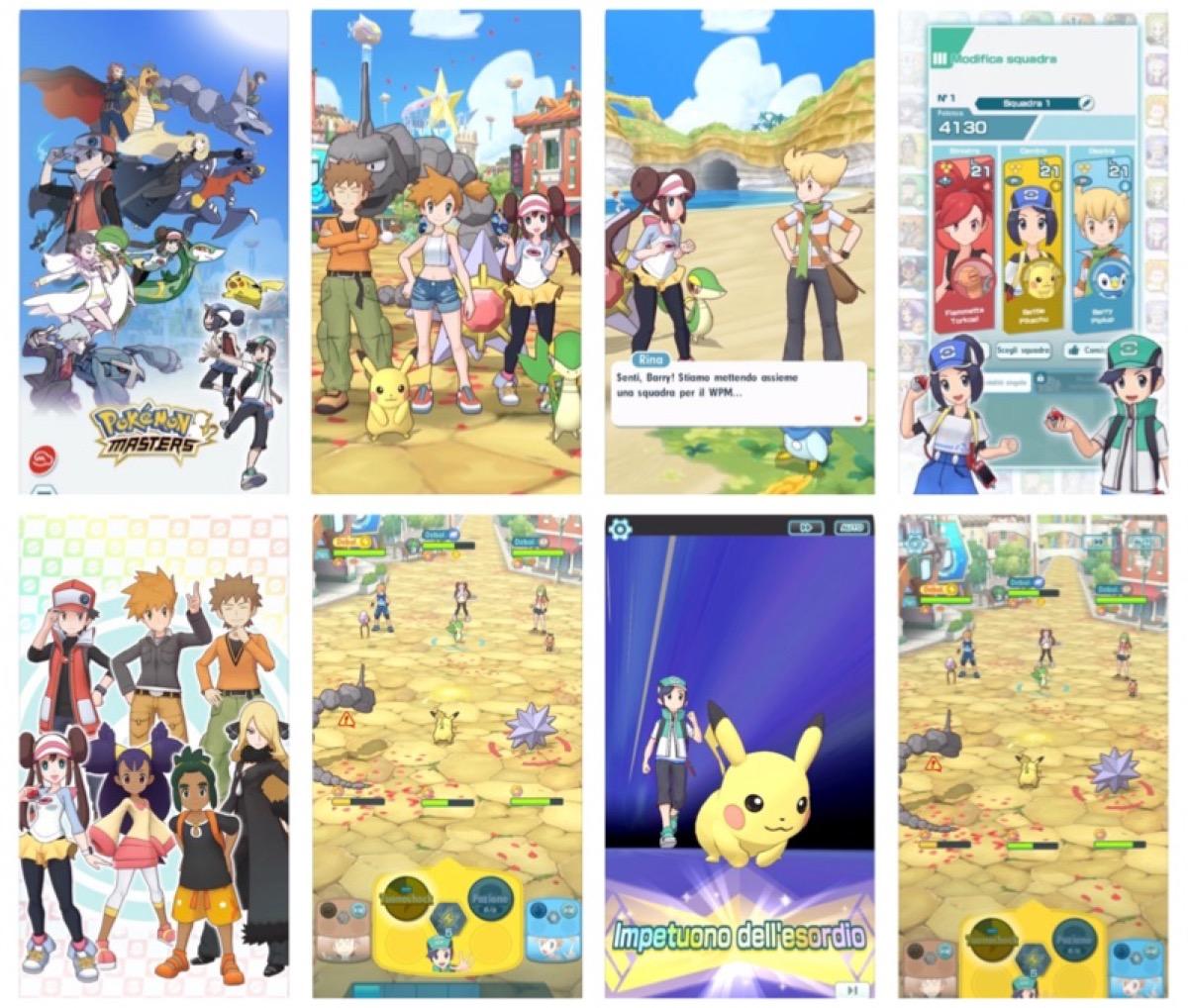 E' arrivato Pokémon Masters per iPhone, iPad e Android
