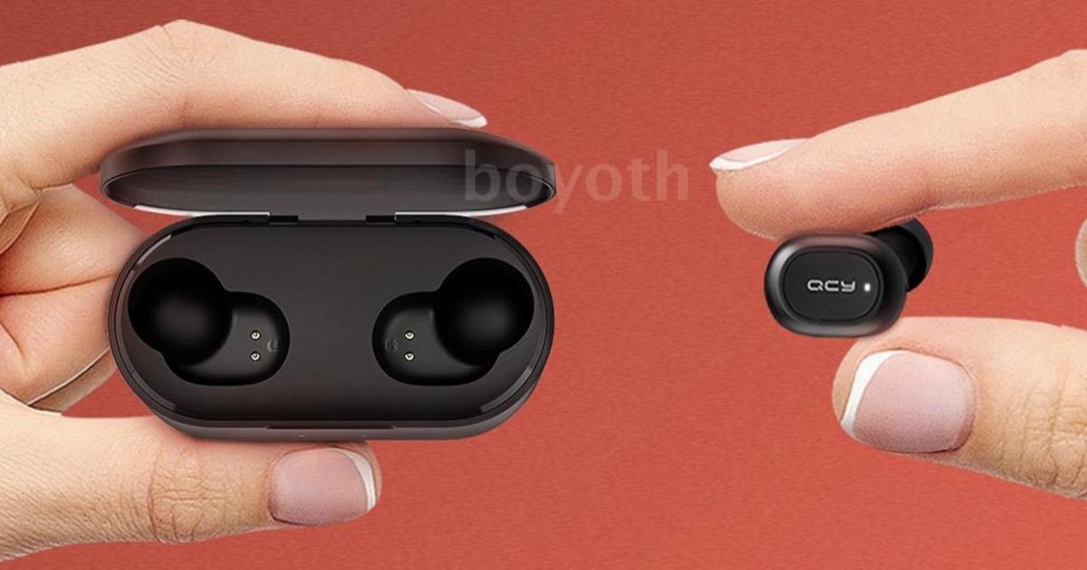 QCY T2S, gli auricolari che sfidano Xiaomi AirDots ora hanno la ricarica wireless