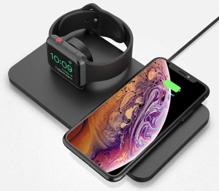 Caricatore wireless per iPhone e Apple Watch insieme a soli 19,99 euro