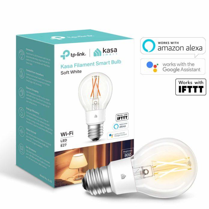 Su Amazon la lampadina a filamento TP-Link compatibile con Alexa e Google