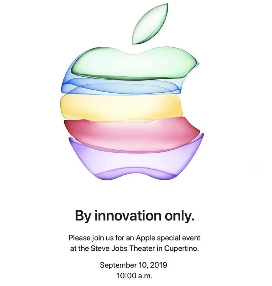 Keynote Apple 10 settembre confermato, arrivano gli iPhone 2019