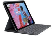 Logitech Slim Folio custodia e tastiera per iPad: sconto del 45% su Amazon