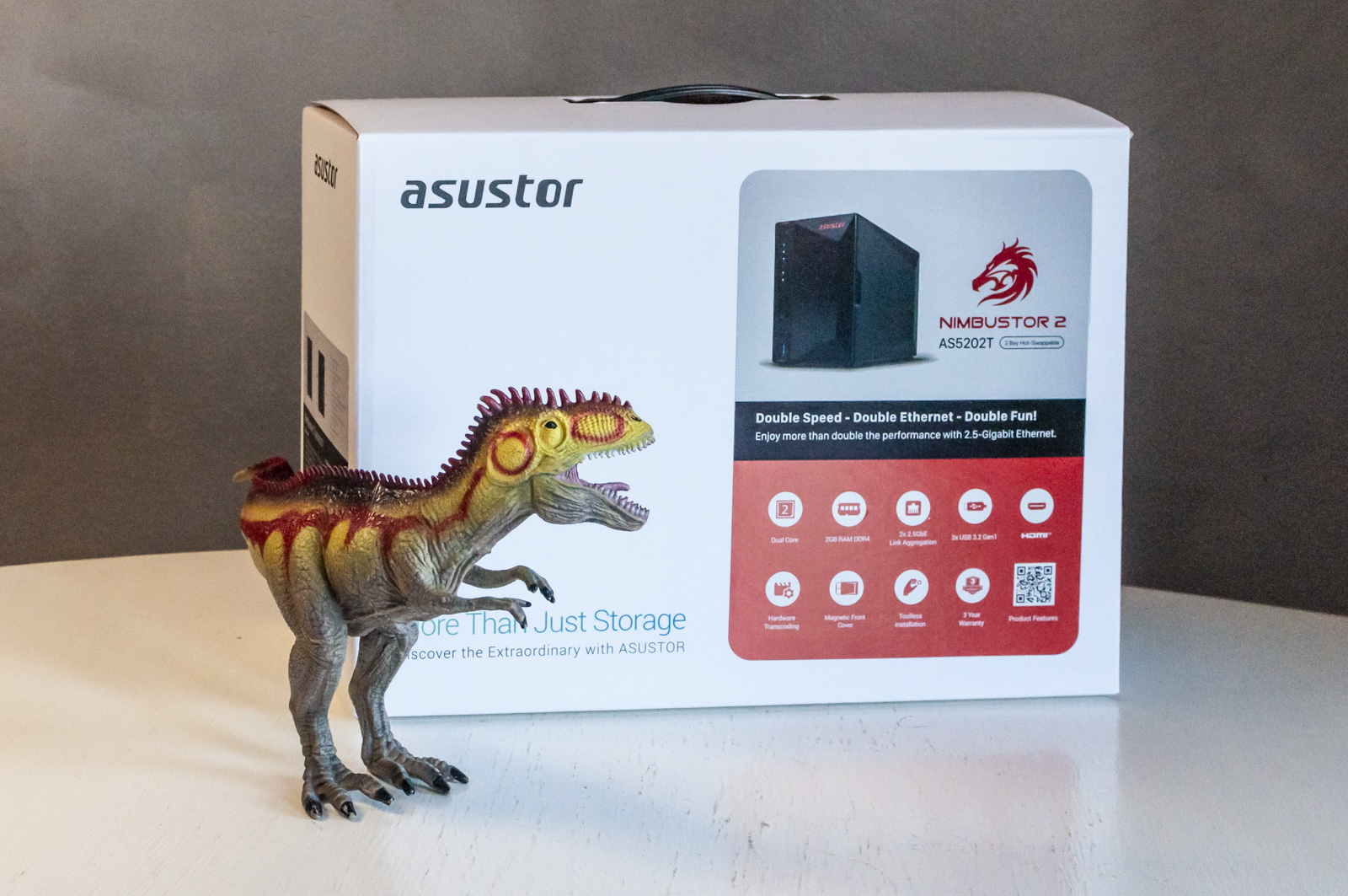 Asustor Nimbustor 2, in prova il NAS per gamers (e affini)