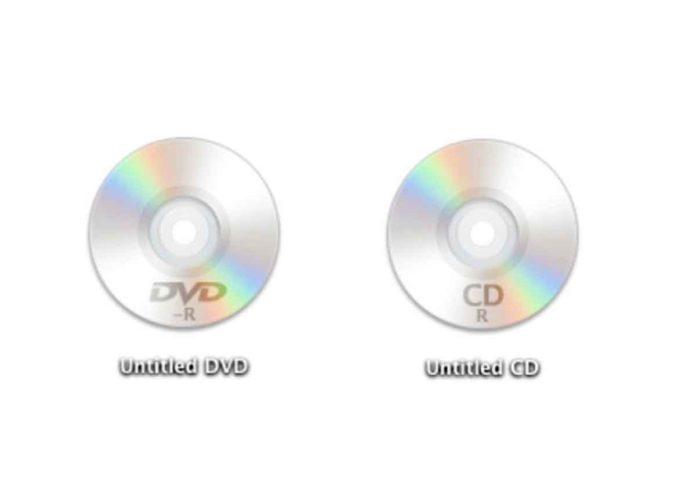 In macOS Catalina non c'è più la condivisione CD e DVD