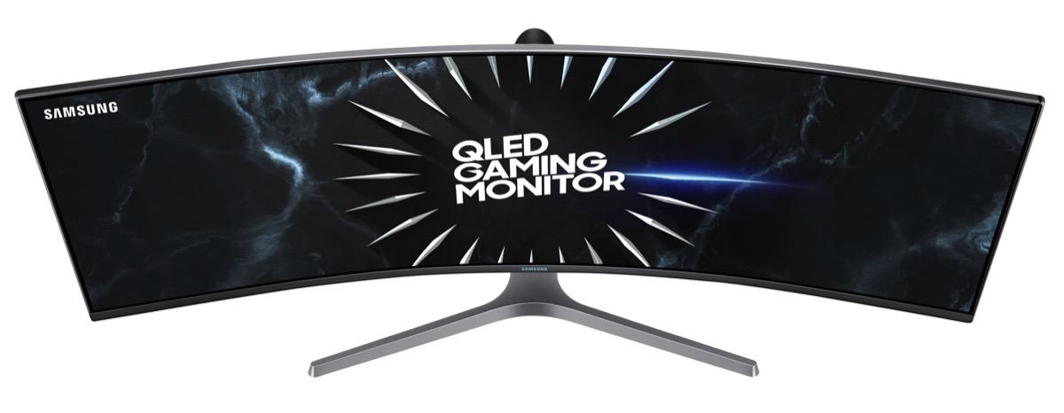 Samsung CRG50, il monitor curvo con G-Sync per giocare a 240 Hz