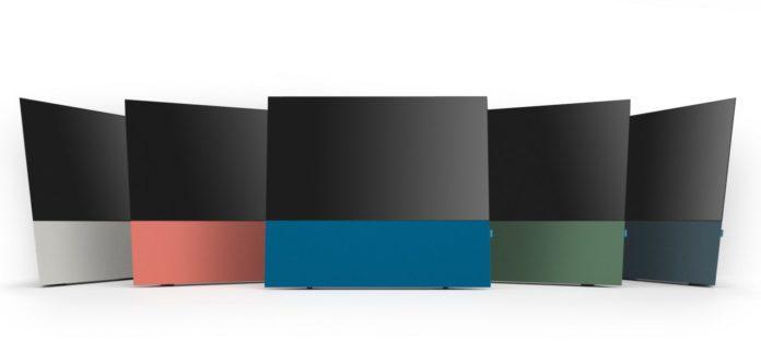 Ecco Canvas, il supporto per le TV LG OLED con super audio integrato