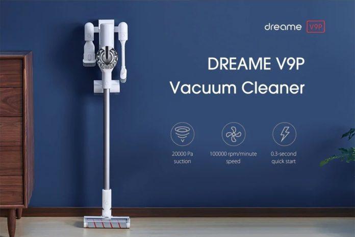 DREAME V9P, aspirapolvere wireless clone Dyson: aspira a 20.000 pa e costa 200 €