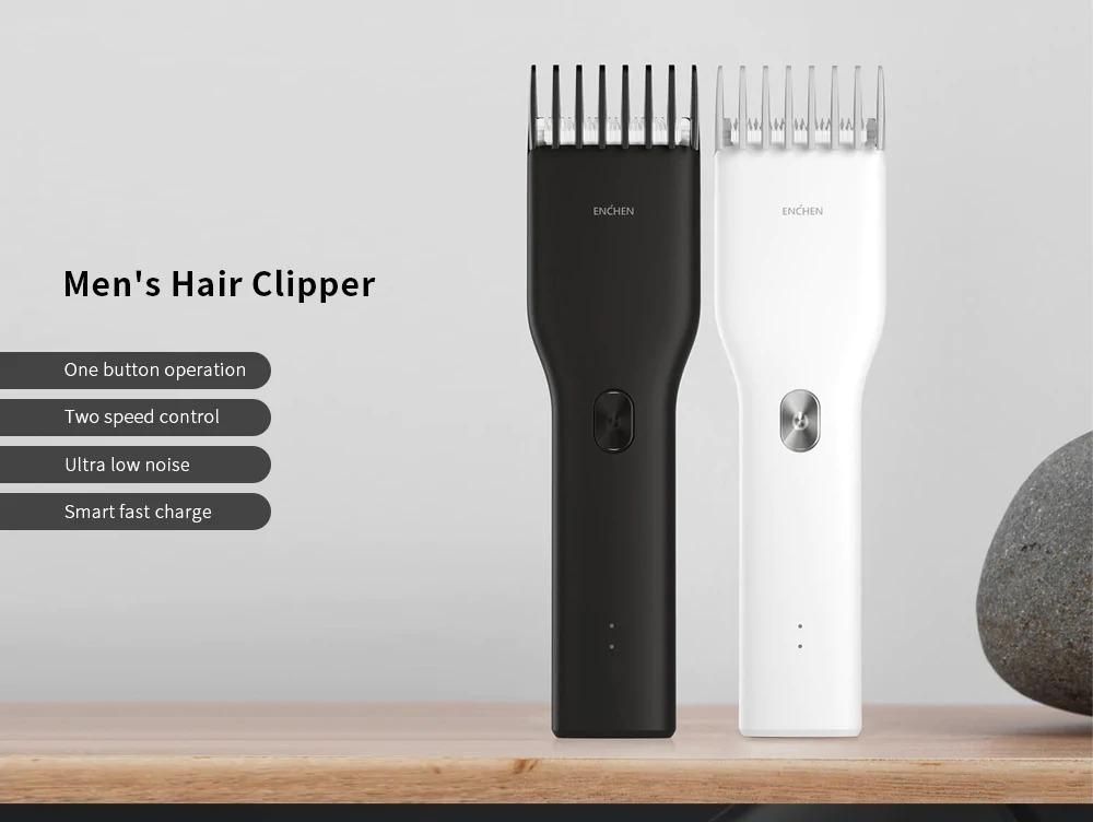 Enchen, rasoio elettrico per capelli con ricarica USB a soli 17,19 euro