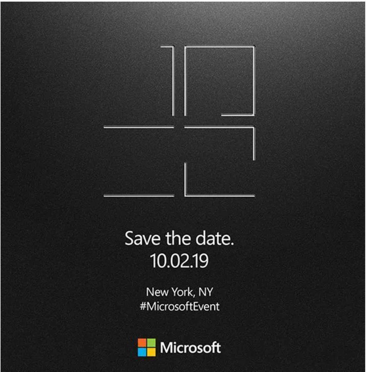 Evento Microsoft Surface il 2 ottobre, atteso l'ibrido con doppio schermo
