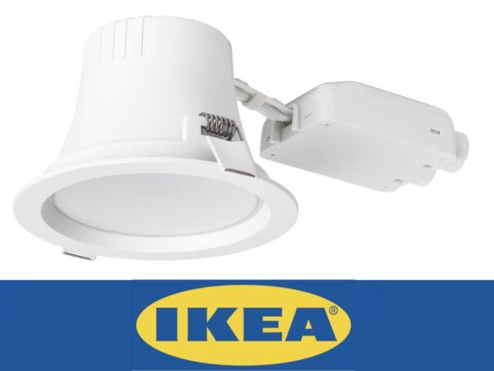 Ikea Leptiter è il nuovo faretto da incasso Zigbee compatibile Homekit, Alexa e Assistente Google