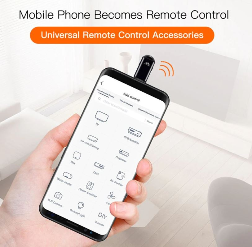 Gocomma R09, solo 5 euro per trasformare lo smartphone in telecomando universale