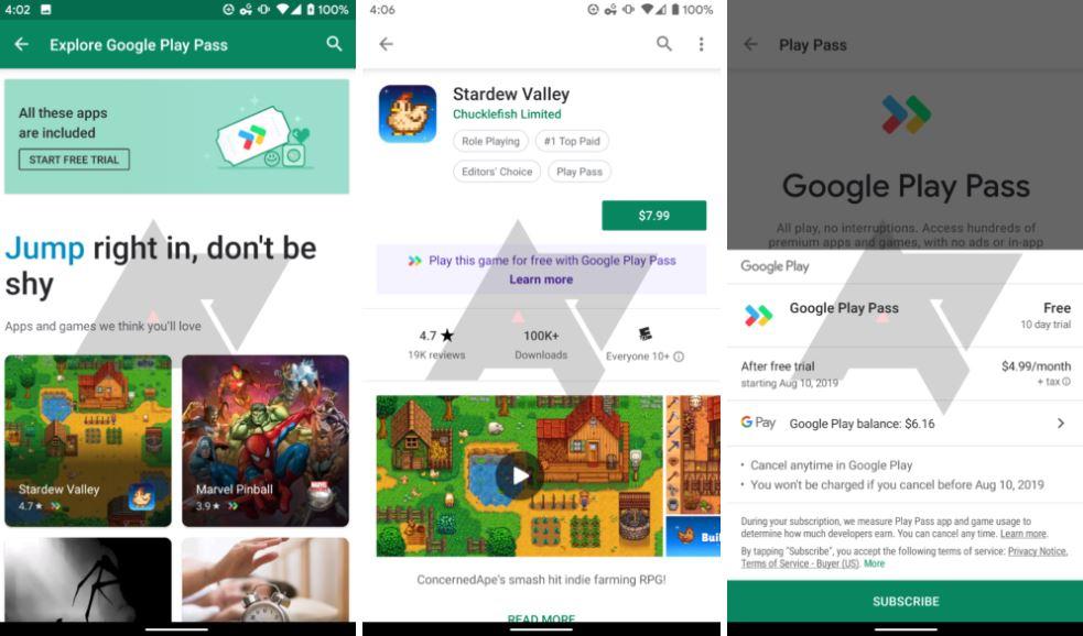 Google Play Pass, è questo il rivale di Apple Arcade?