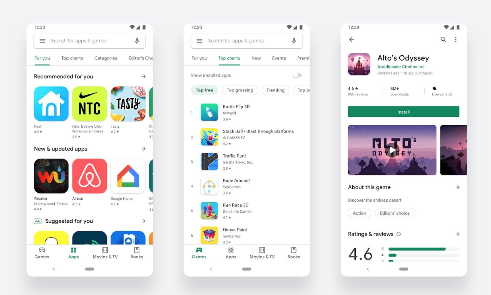Trovare i giochi su Google Play Store è adesso più facile