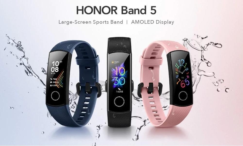 5 ragioni per cui Huawei Honor Band 5 è meglio di Xiaomi Mi Band 4