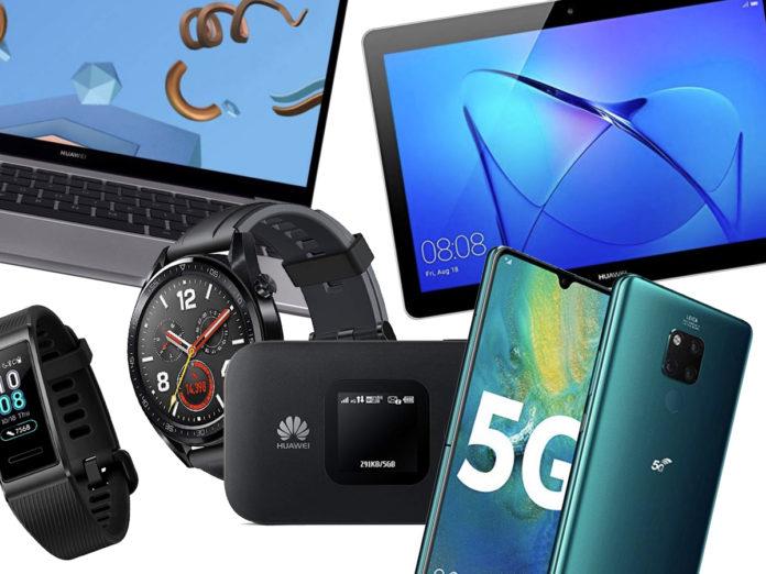 Offerte Huawei 30 agosto fino al 61% tra smartphone, smartwatch, router, tablet e portatili