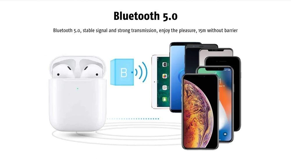 i80 TWS, cuffie clone di Apple AirPods con Bluetooth 5.0 e ricarica wireless a prezzo stracciato