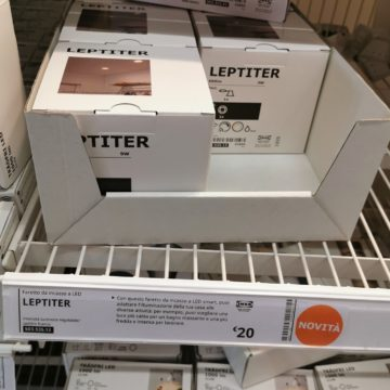 Ikea Leptiter è il nuovo faretto da incasso Zigbee compatibile Alexa e Homekit