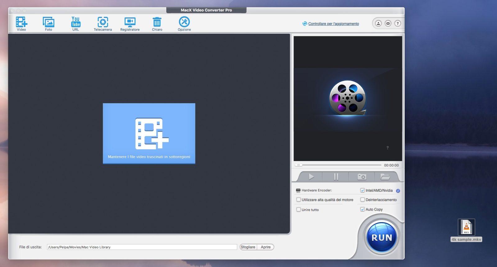 Come e perché convertire e comprimere gratis i vostri video 4K con MacX Video Convert Pro