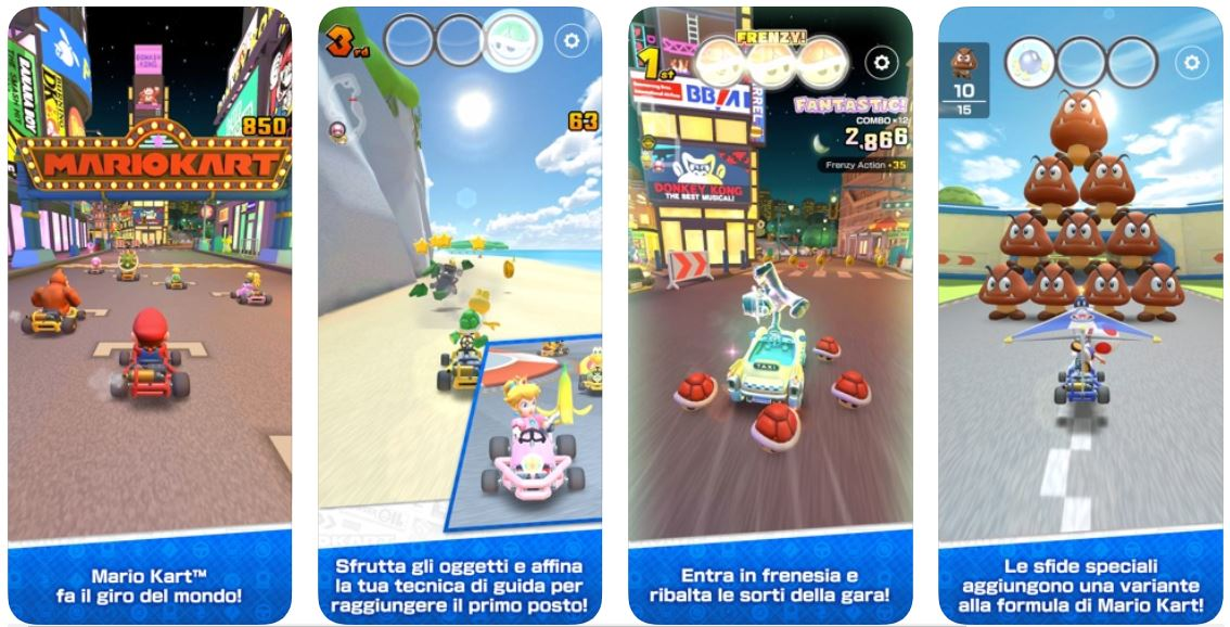 Mario Kart iOS arriva il 25 settembre, registrazioni aperte