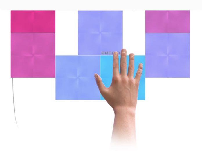 Nanoleak Canvas ancora più interattivo: ora ogni mattonella luminosa è un bottone Homekit