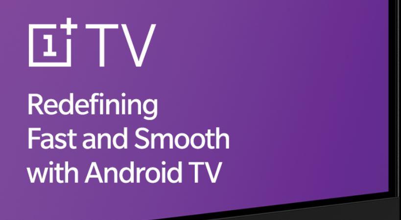 E' ufficiale, OnePlus TV utilizzerà Android TV