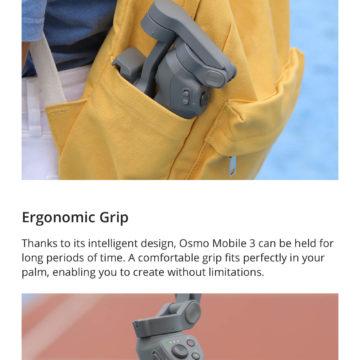 DJI presenta Osmo Mobile 3, il gimbal smartphone pieghevole per chi ama viaggiare