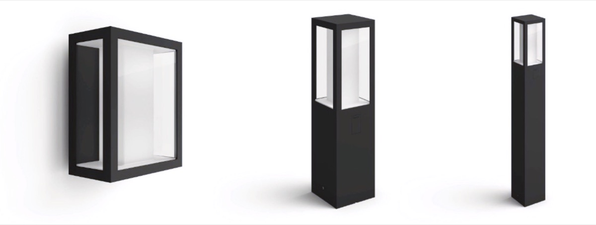 Philips Hue Impress, piantane e lampade da muro Smart per esterni