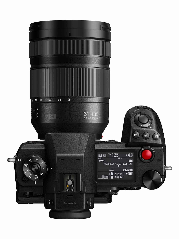 Panasonic, nuova Lumix S1H e nuove ottiche H-XA025 e S-E2470