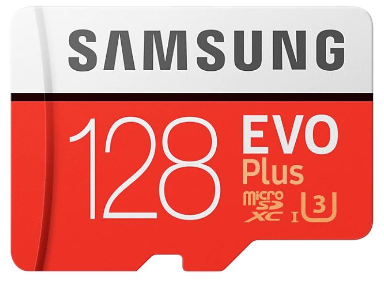 La MicroSD SD SAMSUNG EVO Plus da 128GB a 17,99 euro su eBay