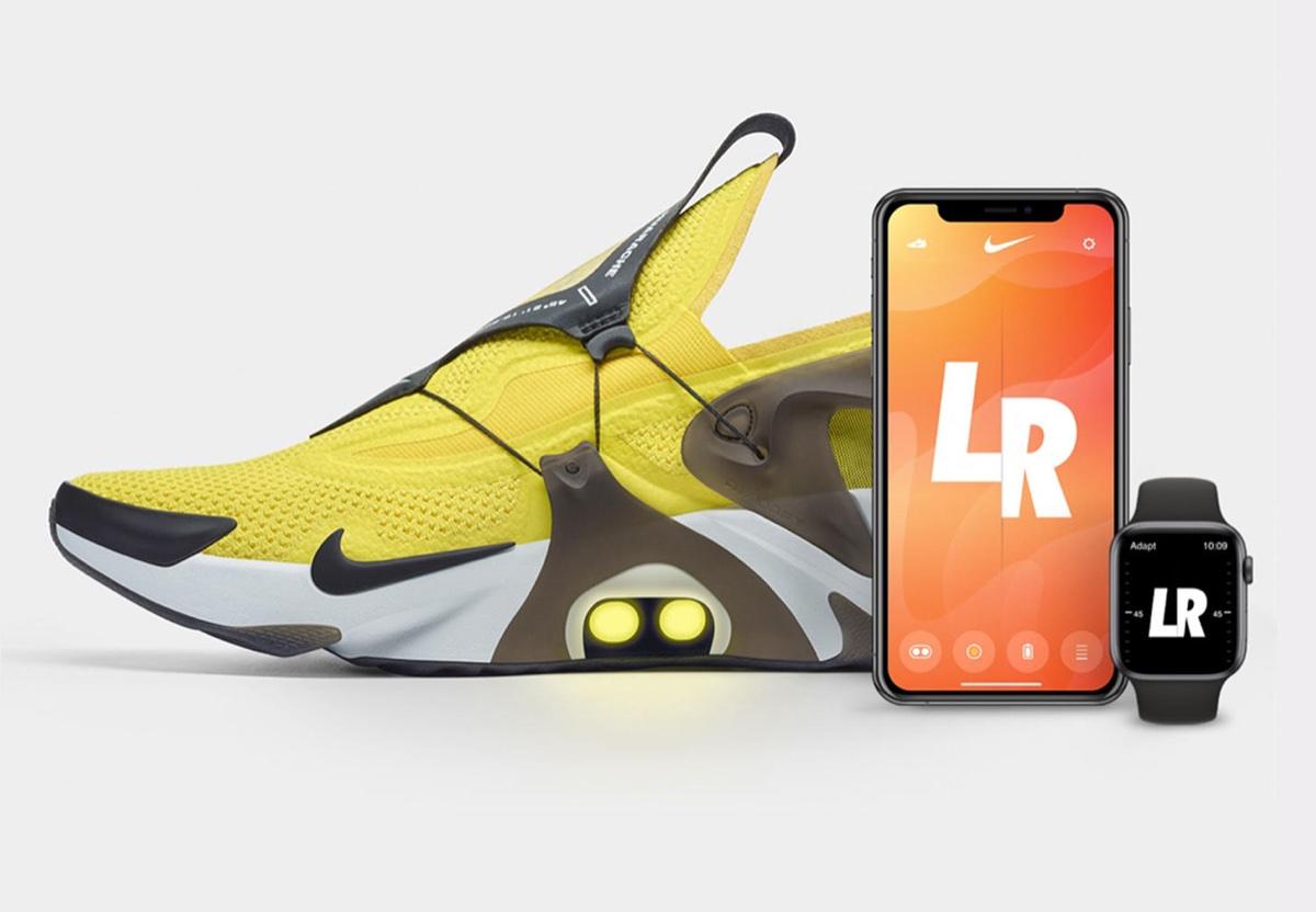 Ehi Siri slaccia le scarpe, si può fare con Nike Adapt