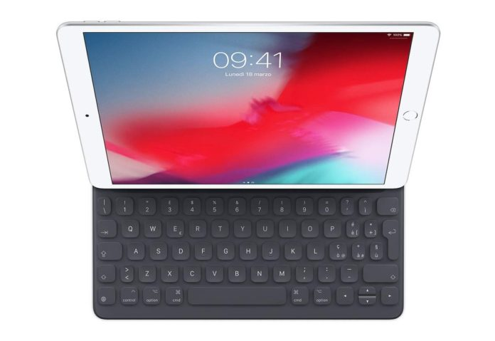 Sconto Smart Keyboard per iPad Pro 10.5 e iPad Air: (quasi) metà prezzo su Amazon