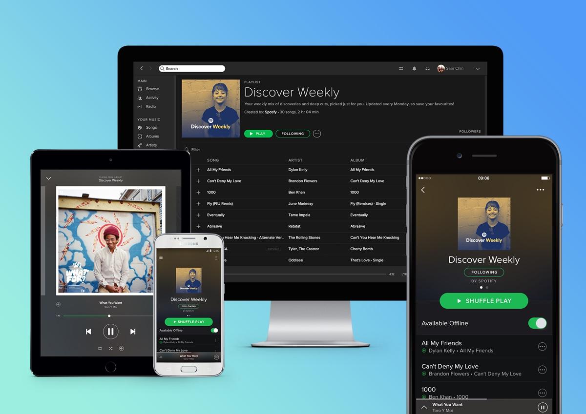 Spotify Premium Family migliora con mix, filtri e hub di controllo