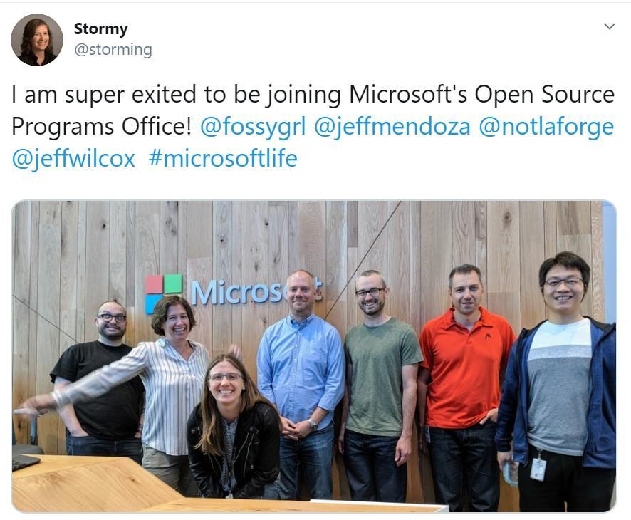 Microsoft ha nominato Stormy Peters responsabile dell'Open Source Programs Office