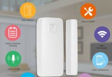 Sicurezza smart: il sensore per porte e finestre Tuya in sconto a 12,99 euro