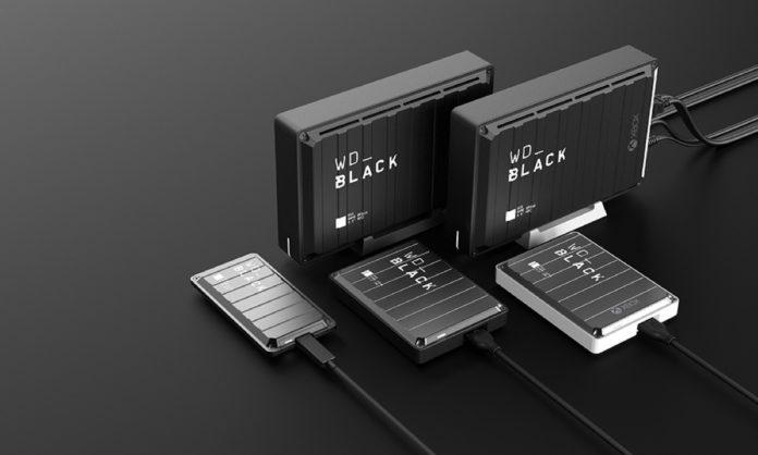 WD Black, nuovi HDD e SSD per giocatori su PC e console al Gamescom 2019