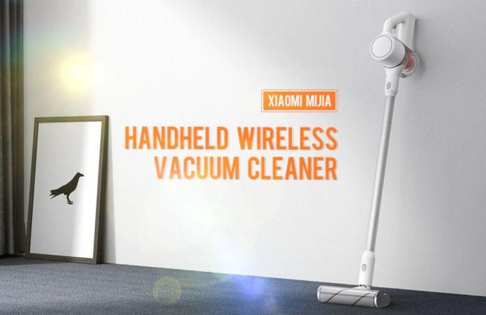 L'aspirapolvere verticale senza filo Xiaomi Mijia in super sconto di 80 euro