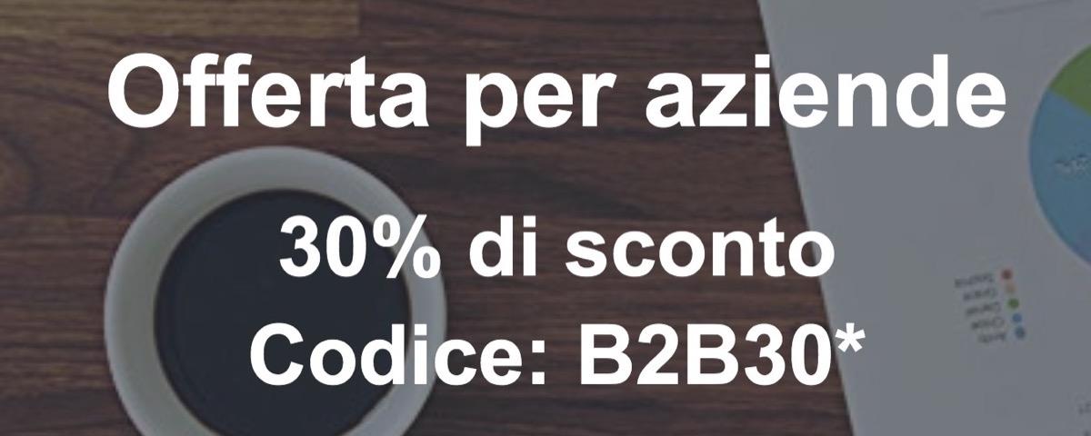 Codice sconto fino a 60 Euro per chi si iscrive ad Amazon Business entro il 27 settembre