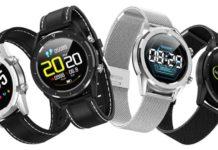 Gocomma DT28, smartwatch che misura battiti, pressione sanguigna e livello di ossigeno