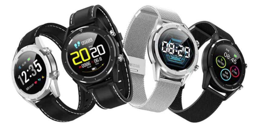 Gocomma DT28, smartwatch che misura battiti, pressione..