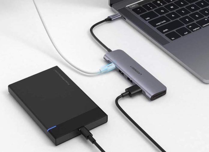 Hub USB-C in alluminio con 6 funzioni in 1 in sconto a soli 20,98 euro