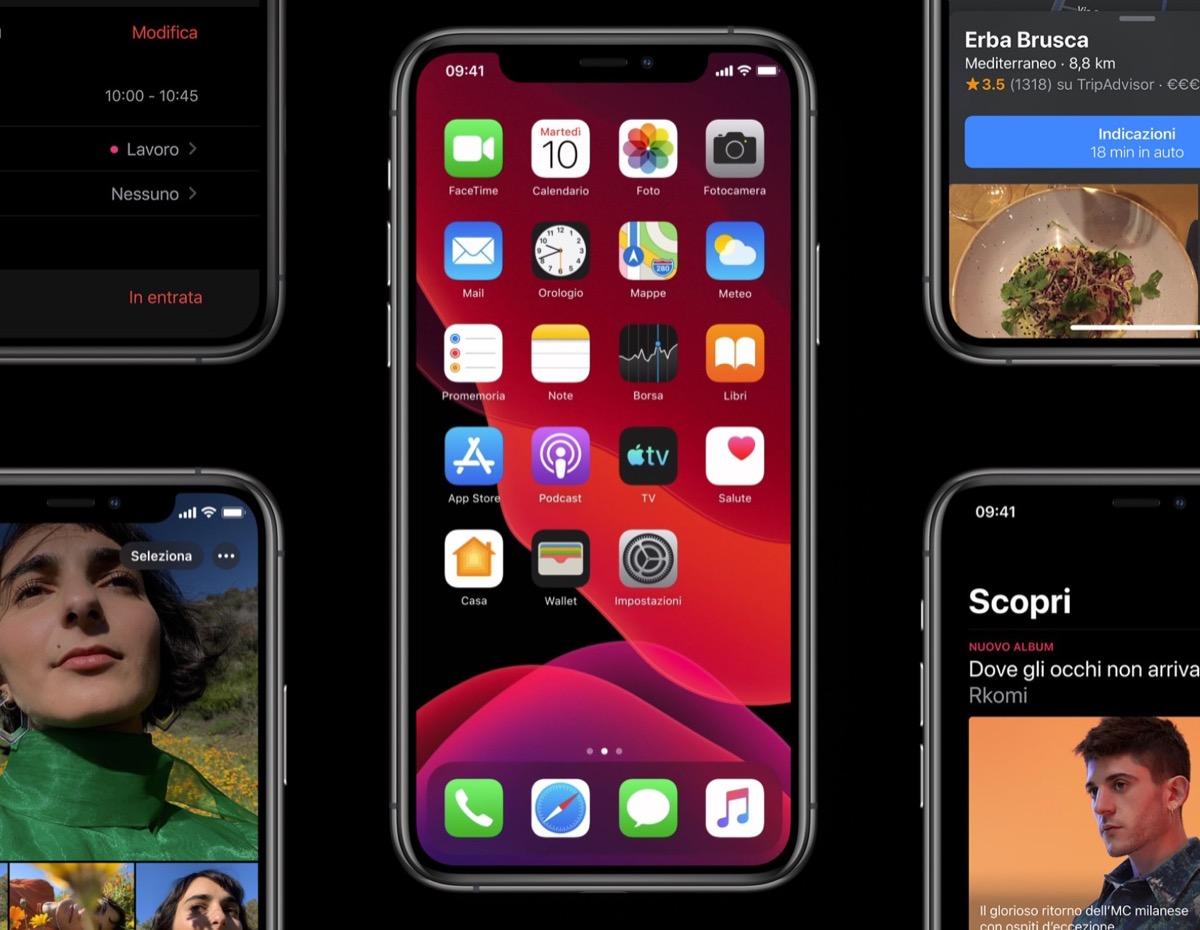 Benvenuto iOS 13, ti aspettavamo da tempo